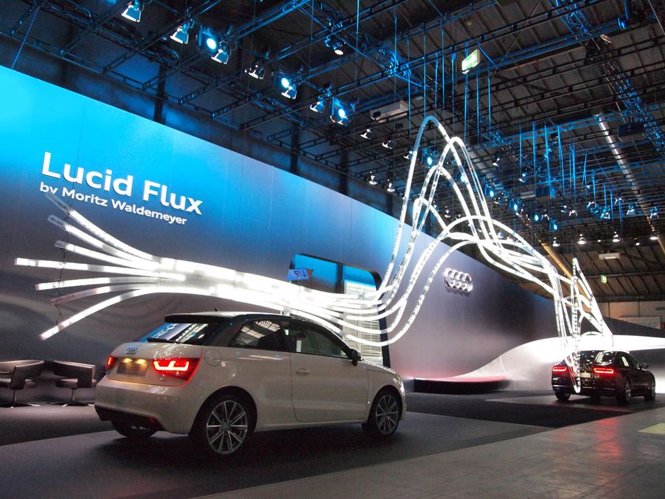 Audi - Lucid Flux by Moritz Waldemeyer
