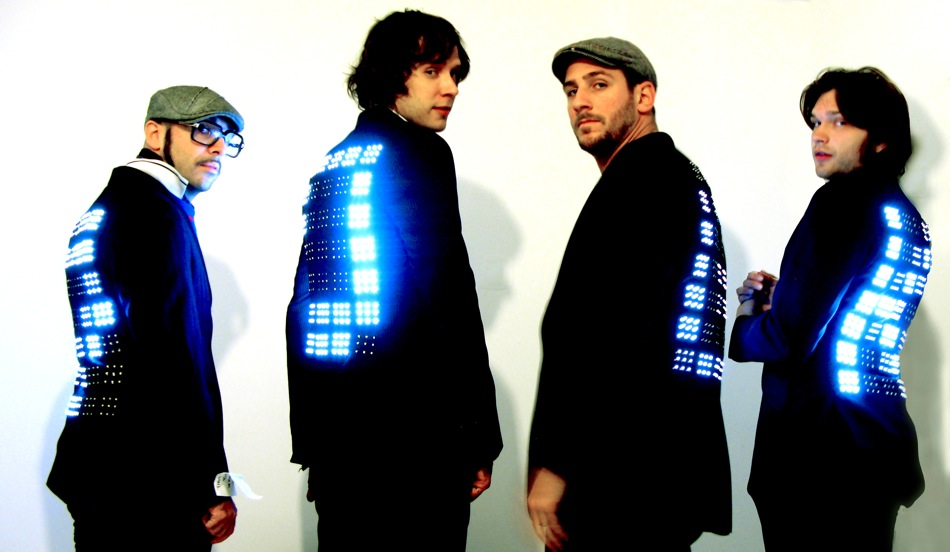 OKGo with LED jackets