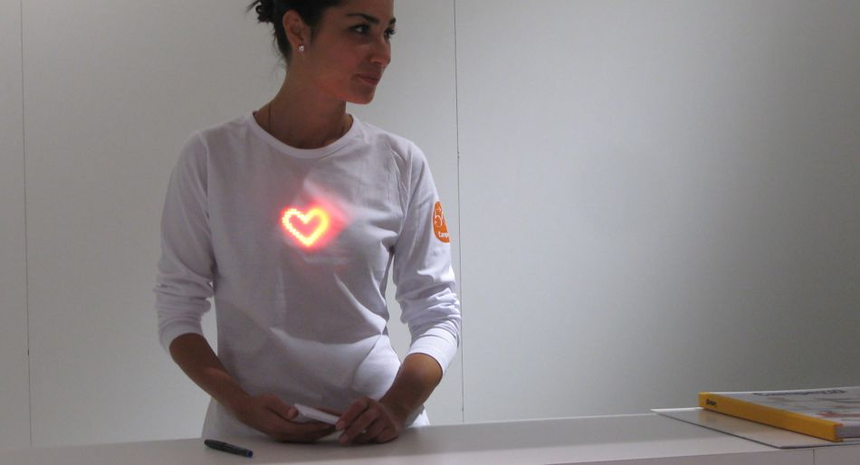 HeartBeat LED jewelry