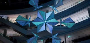 Snowflake Sculpture - Time Square Seoul