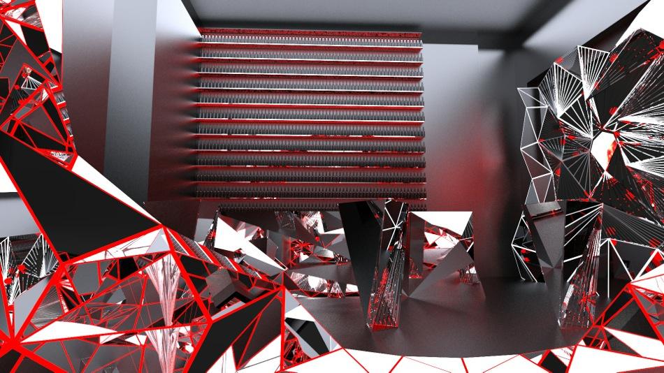 Becks Sapphire bar - rendering